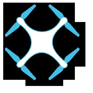 ikona quadrokoptéry