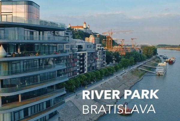 river park letecky zaber