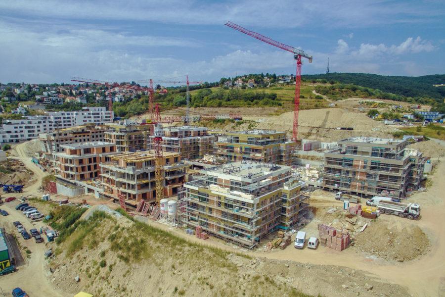 Bratislava Nová Koliba - výstavba