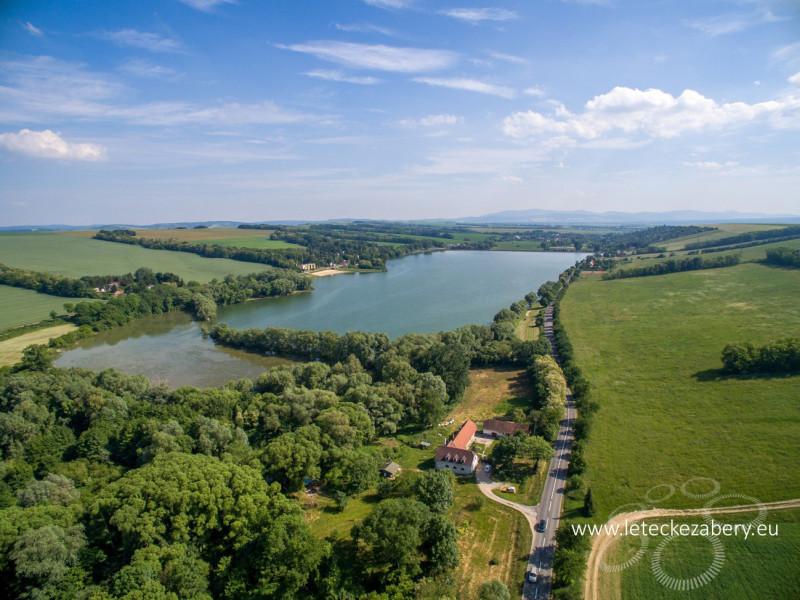 letecké fotografie kunovská priehrada 2
