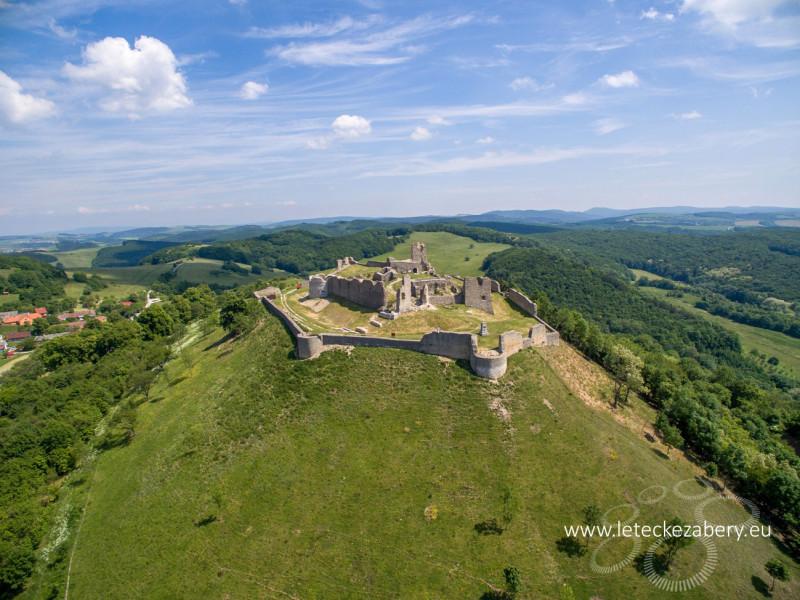 fotografia hradu branč