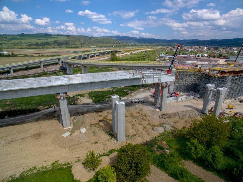 letecká fotografovanie stavby