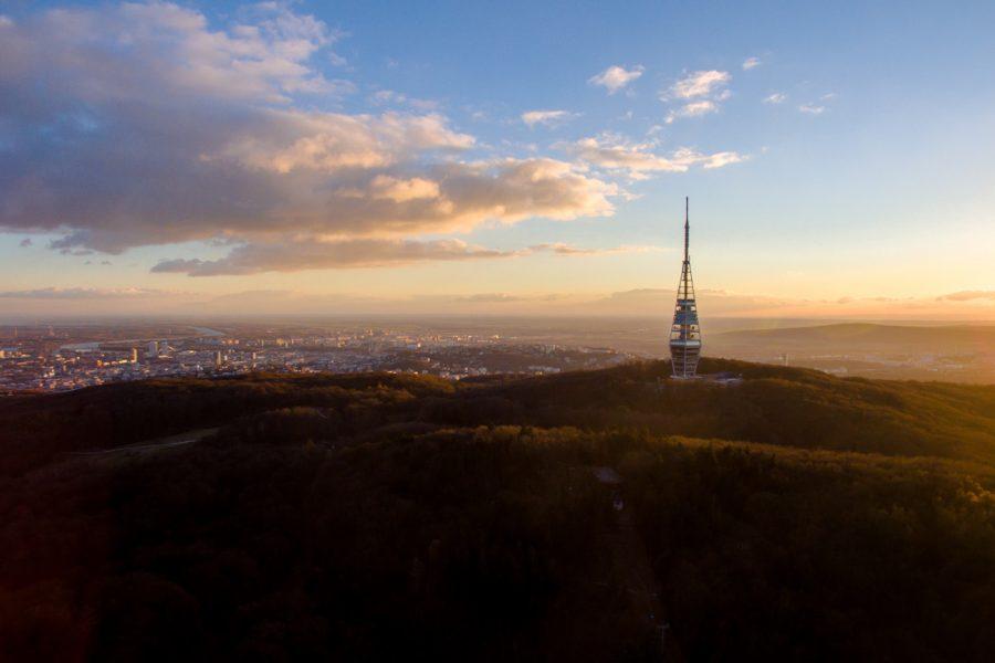 bratislavská kolyba dron